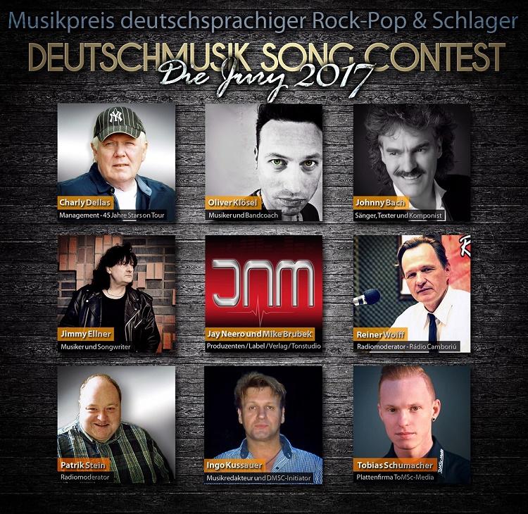 Preis für deutsche Musik 2017 - Die Deutschmusik Song Contest Jury