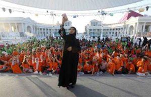 Magic Sky Überdachung für Ajyal Youth Film Festival in Doha