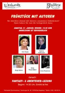 Frühstück mit Autoren und Fantasy – und Abenteuerlesung in Bad Segeberg