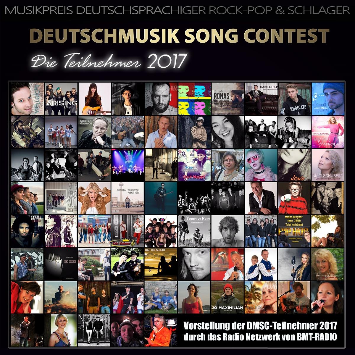 Deutschmusik Song Contest - Die Kandidaten 2017