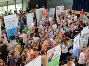 JugendBildungsmesse zu Auslandsaufenthalten in Düsseldorf