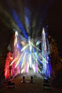 Flashlight setzt für Marburg b(u)y Night auf ROBE Spikie
