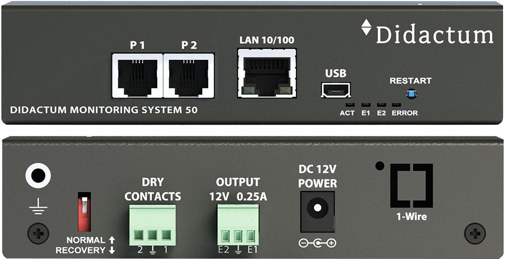 Didactum Monitoring System 50 – LAN basierte Überwachung