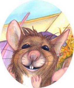 Kleiner frecher Mäuserich
