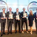 Deutscher Servicepreis 2017 geht an LAGERBOX