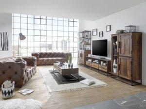 so gelingt der industrial chic im angesagten schwarz wei stil. Black Bedroom Furniture Sets. Home Design Ideas