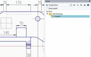 Bessere Zusammenarbeit dank CAD-Software mit einer Cloud-Anbindung