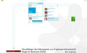Anrufmanagement: Vermittlungsplatz von Enghouse Interactive für Skype for Business Online