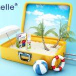 Ich packe meinen Koffer und nehme mit…  L'axelle® Power-Duo gegen Schweiß – Der unverzichtbare Reisebegleiter