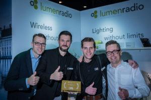 "LMP erhält LumenRadio ""Distributor of the Year Award"""