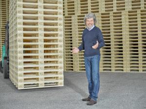 SAFETY FIRST mit der Gütegemeinschaft Paletten e.V. und Reinhold Messner auf der transport logistic 2017