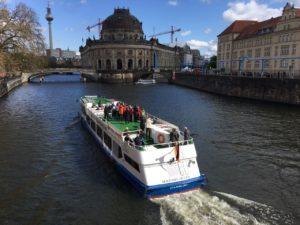 Serrahn-Queen-in-Berlin-300x225 Erste Mini-Kreuzfahrt des Jahres erfolgreich gestartet