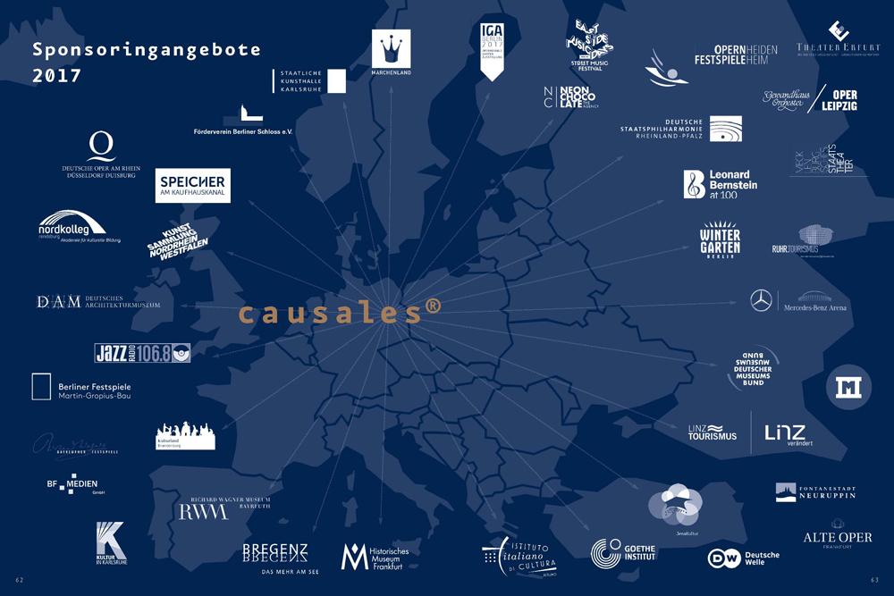 Jahrbuch Kulturmarken 2018 – Der Verkaufskatalog mit Kultursponsoring-Lizenzen