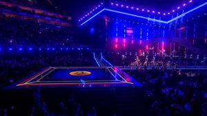 LED-Boden von Faber Audiovisuals für die Brit Awards
