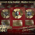 Musikpreis-Verleihung: Die Gewinner des Deutschmusik Song Contest – Musiker-Awards 2017