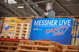 SAFETY FIRST mit Reinhold Messner auf der transport logistic 2017