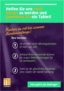 TBS-Umfrage-213x300 Umfrage über den Einsatz von Bürodruckern – Samsung-Tablet zu gewinnen