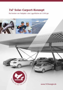 7x7energie baut Solar-Carports