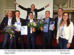 Enghouse: Ausgezeichneter Erfolg mit starken Partnern