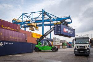 DIT macht Containerumschlag nachhaltiger