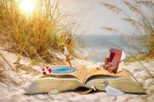 Ferien, Urlaub und die passende Lektüre