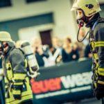 Feuerwear im Einsatz beim 5. KölnTurm Treppenlauf