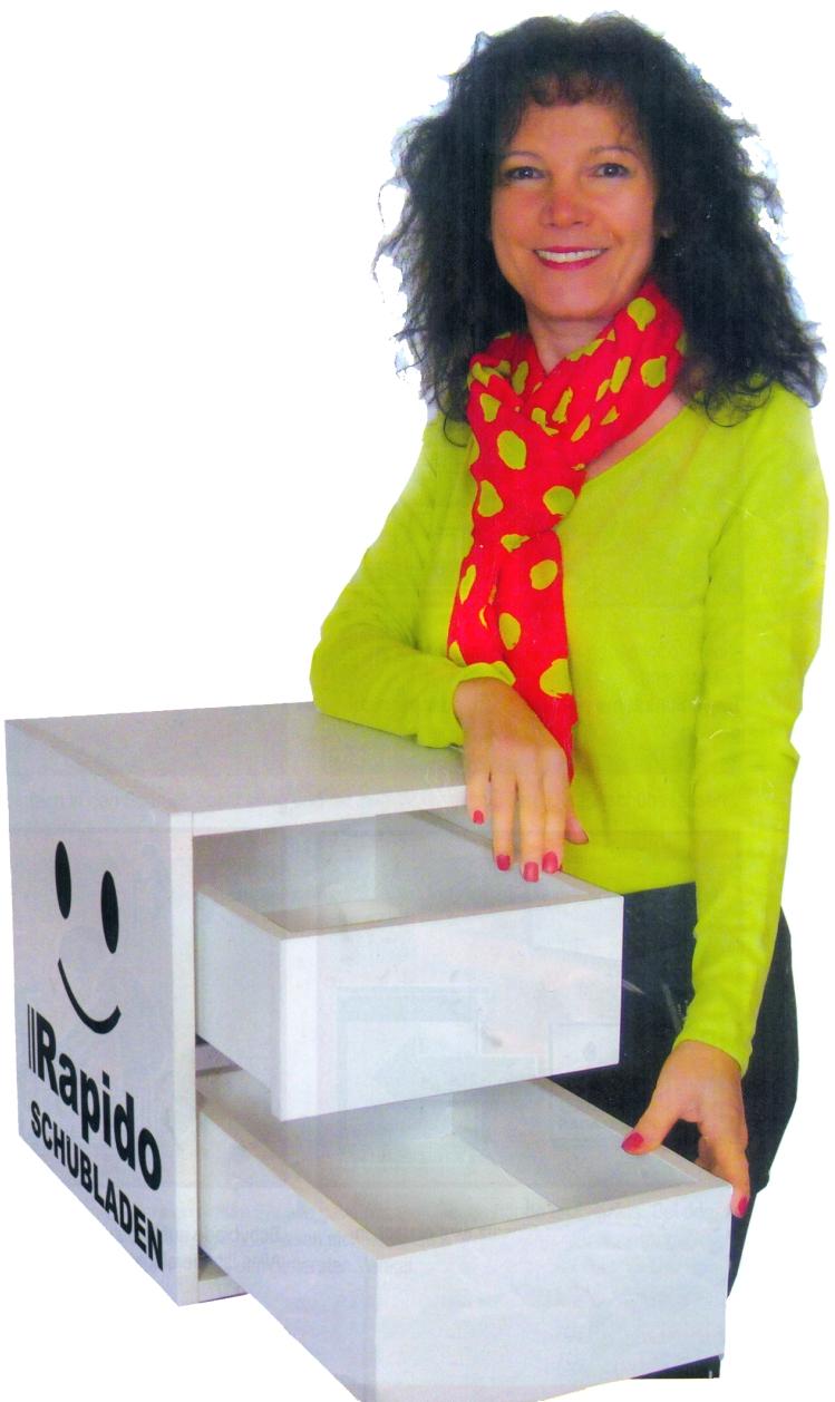 RAPIDO: Flexible SchubladenBoxen für mehr Stauraum und Ordnung im Büro
