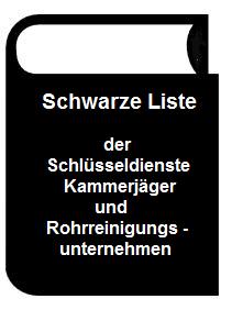 Schwarze-Liste-Pic Weiße Liste für Schlüsseldienst Saarbrücken
