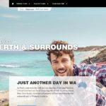 Die Webseite von Tourism Western Australia gehört zu den 25 besten der Welt