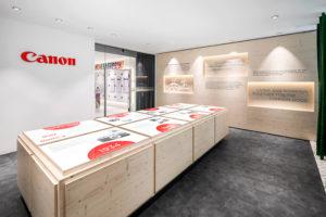 Neue Markenwelt für Canon Deutschland