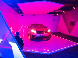 MDL expo realisiert Sets für mehrteiligen Deutschland-Launch des Range Rover Velar