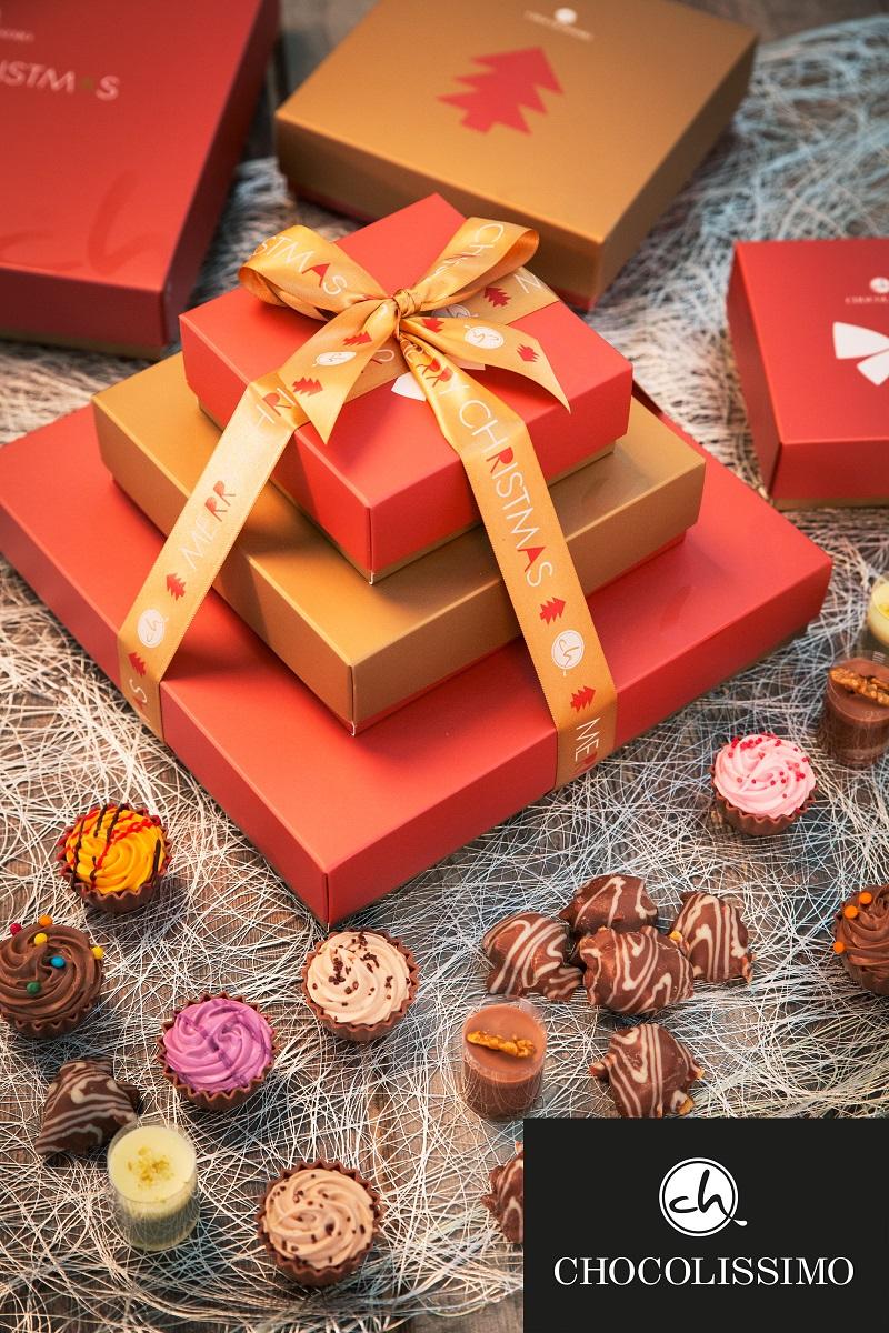 Weihnachtsgeschenke aus Schokoladevon CHOCOLISSIMO