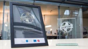 wirDesign als »Zukunftgeber« ausgezeichnet: Neues Siegel bescheinigt attraktive Arbeitsbedingungen