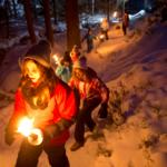 Heilklimawanderung, Schneelabyrinth und das schönste Echo – Die Highlights des 3. Deutschen Winterwandertags im Fichtelgebirge