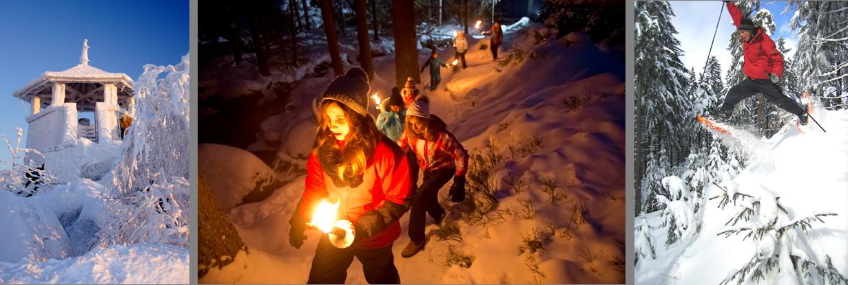 3. Deutscher Winterwandertag im Fichtelgebirge