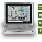 "INOX-F15C-ULT3 – Robuster 15"" Panel PC mit Skylake ULT"