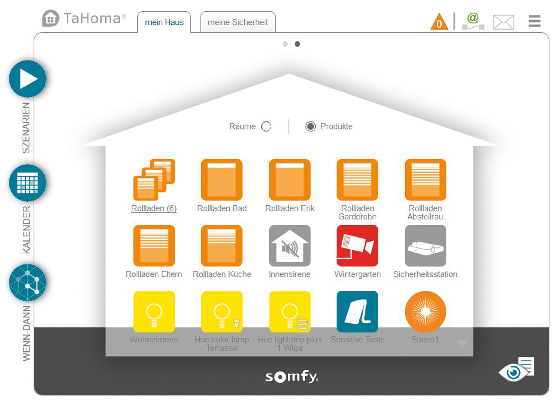 somfy smart home noch offener. Black Bedroom Furniture Sets. Home Design Ideas