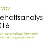 VDV legt Gehaltsanalyse für Vermessungs- ingenieurinnen und -ingenieure vor
