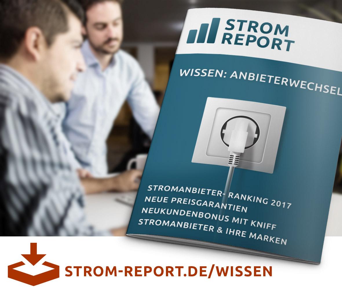 Strom Report Ratgeber Energie