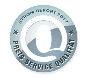 strom-report-siegel-300x275 Strom Report 2017: Preis-Service-Ranking der günstigsten Stromanbieter