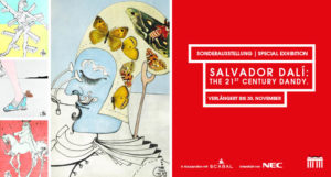 "Sonderausstellung ""Salvador Dalí: The 21st Century Dandy. Man's Fashion from 1971–2017"" bis 30.11.2017 verlängert"
