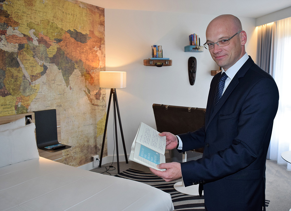 Rafael D. Fröhlich ist neuer Hoteldirektor im Novotel München City