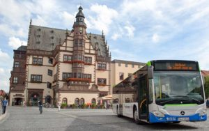 Flexible ticketing in Schweinfurt