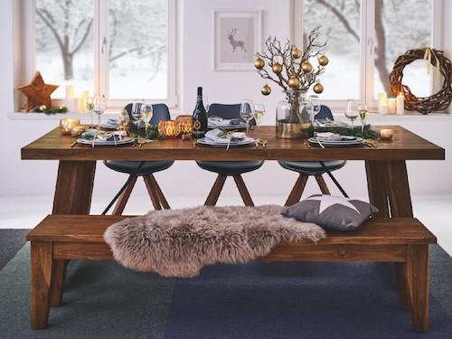 festlich feiern mit massivum. Black Bedroom Furniture Sets. Home Design Ideas