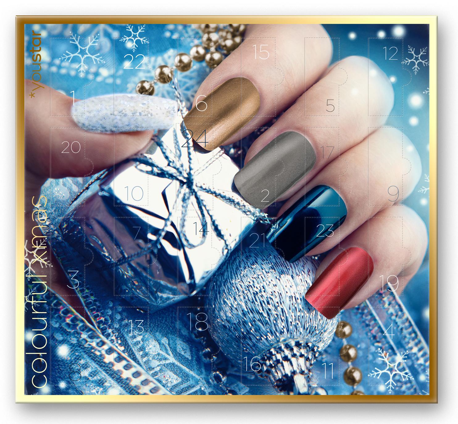 Der neue Nagellack Adventskalender Colourful X-Mas von youstar