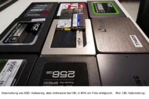 CBL Datenrettung Rückblick 2017: Buchhaltungsdaten und Maschinensteuerungen, Fotos und Kontakte