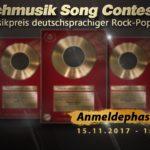 Der Countdown zum Deutschmusik Song Contest 2018 läuft