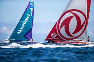 Faber Audiovisuals weltweit auf Tour für das Volvo Ocean Race