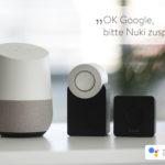 Smart Lock per Sprachbefehl steuern: Nuki unterstützt ab sofort Google Home