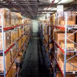 Palettenregal-Anlage für französischen Logistiker